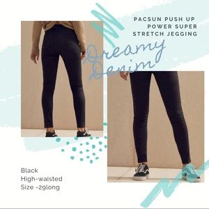 PacSun PUSH UP JEGGING -SANTEE